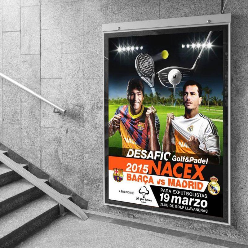 diseño para cartel creativo para evento nacional