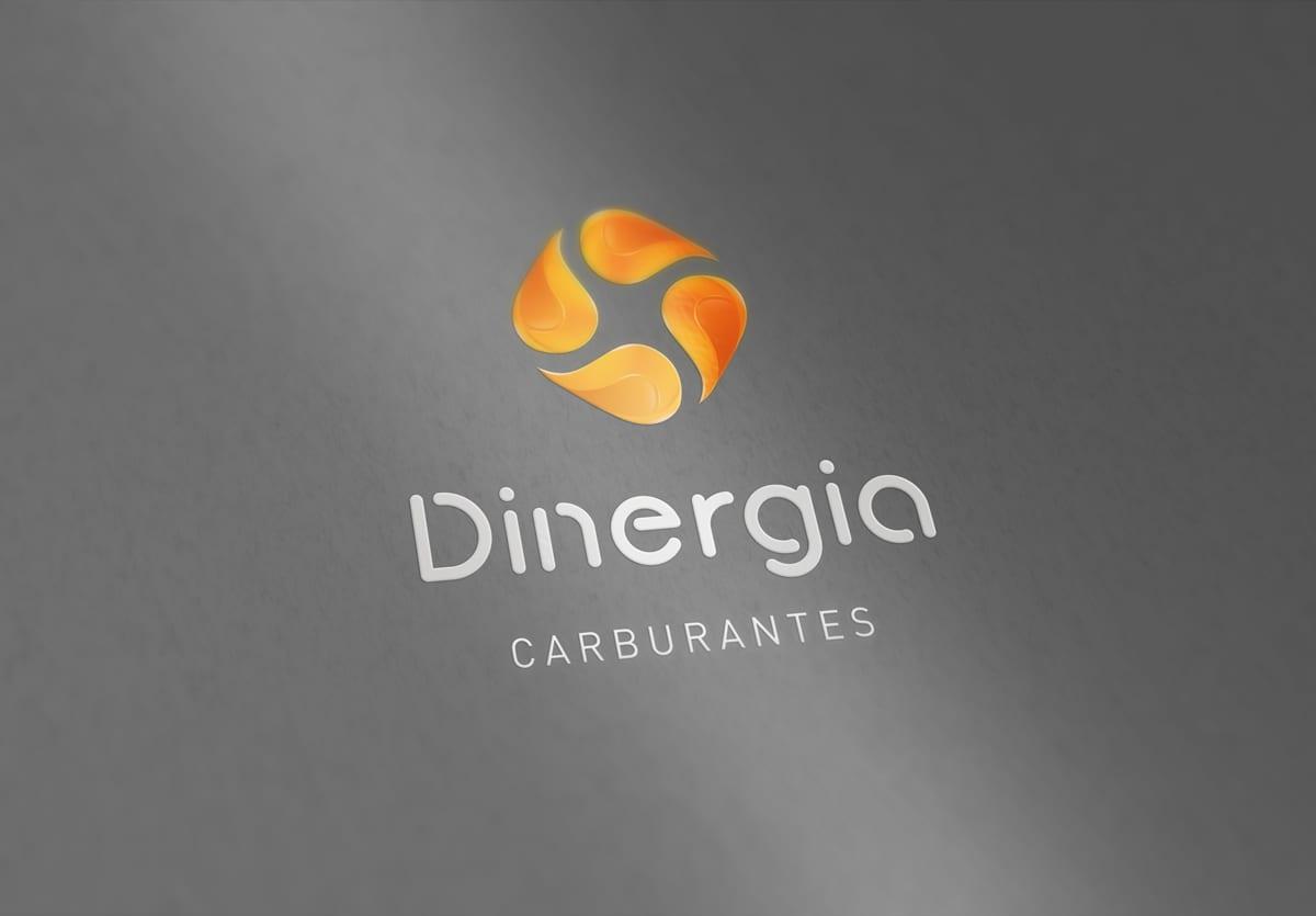 Dinergia, Málaga, diseño de logotipo