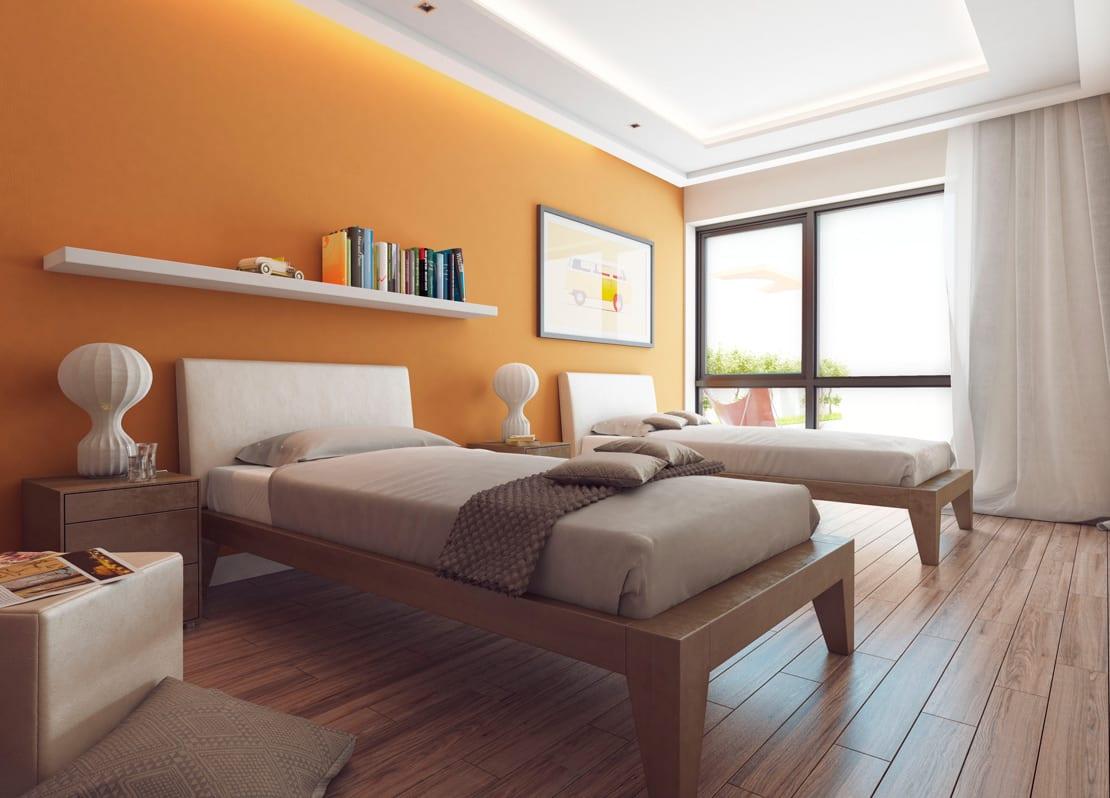 habitacion para niños renderizado de alta calidad