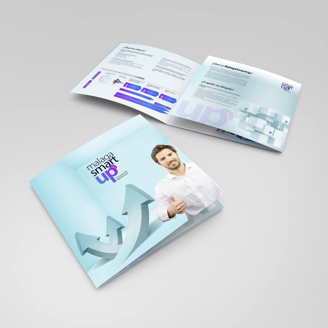 diseño de folleto publicitario para empresa