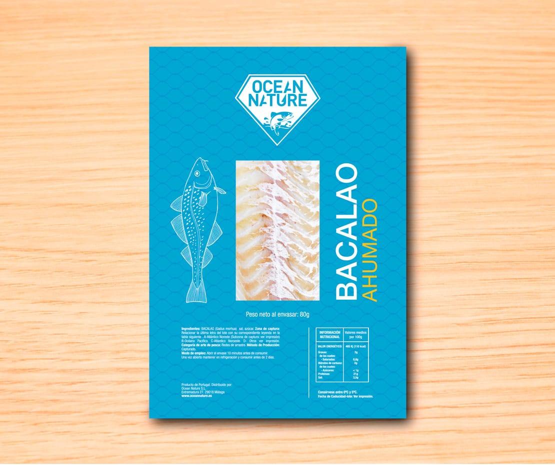 diseño de envoltorio alimentacion