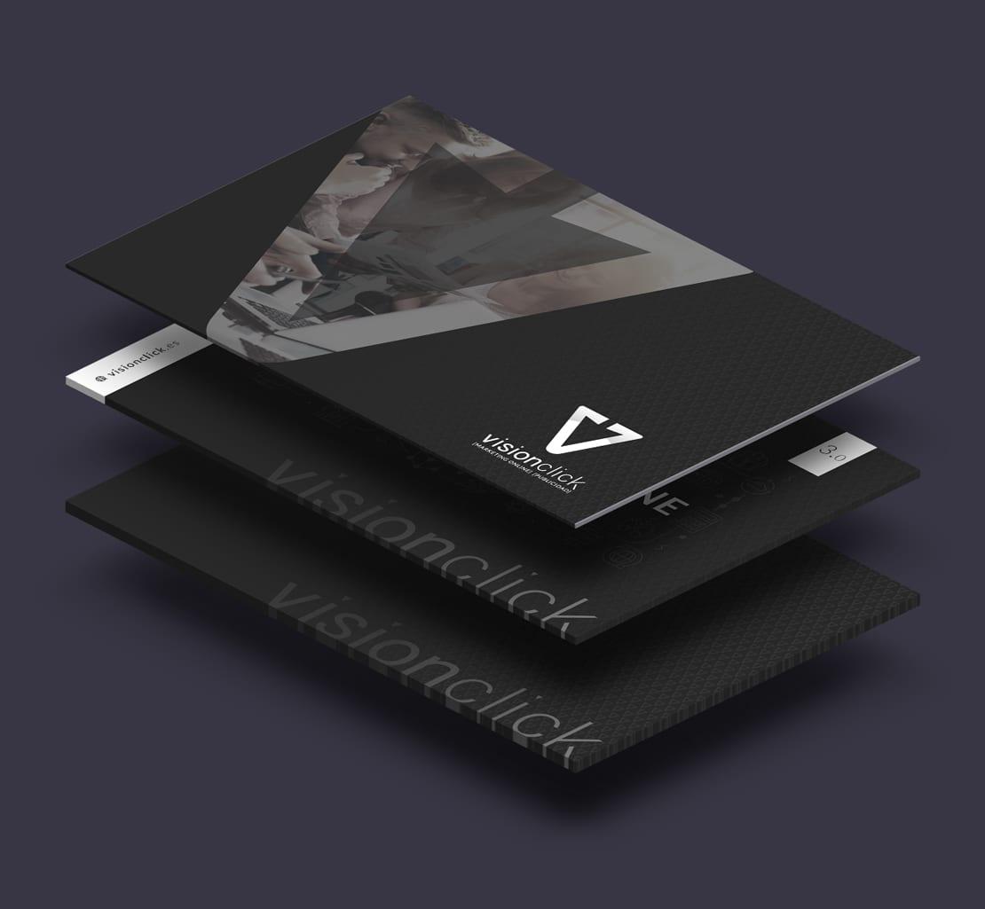 tarjetas de visita para empresa de posicionamiento web
