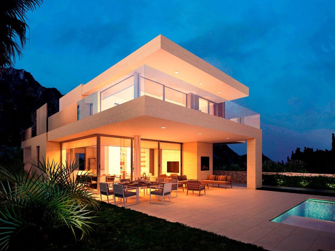 Villa Tango, Marbella, Infografías 3D