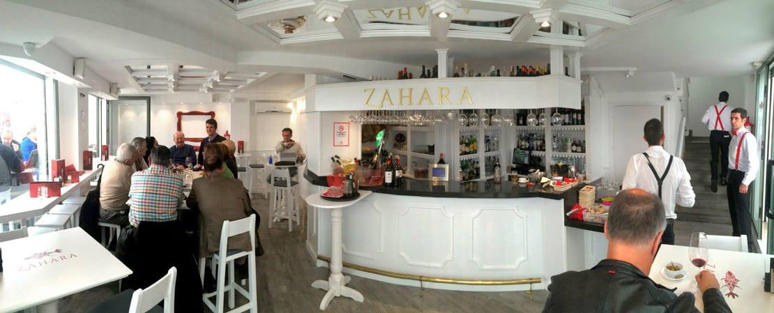 Zahara, diseño de imagen para restaurante