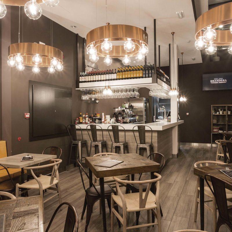proyecto de interiorismo para restaurante en plaza mayor