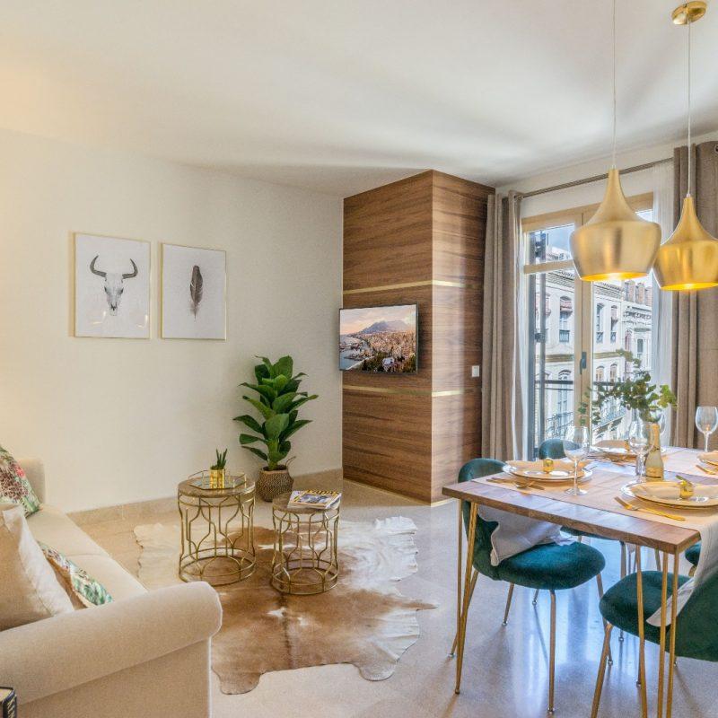 decoración low cost para apartamentos vacacionales