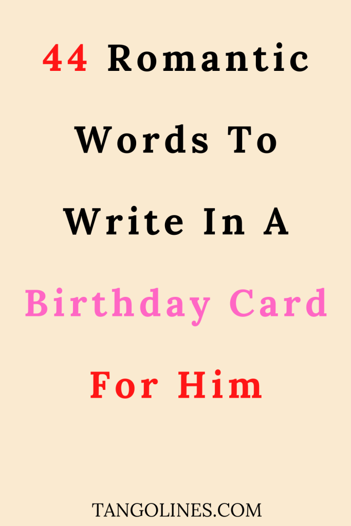 what to write in a birthday card for boyfriend