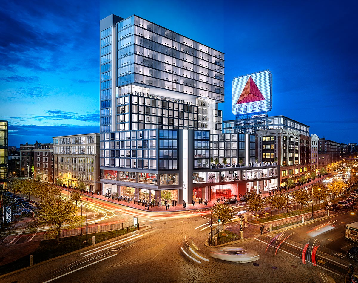 Tangram 3DS 3D Visualization Kenmore Square