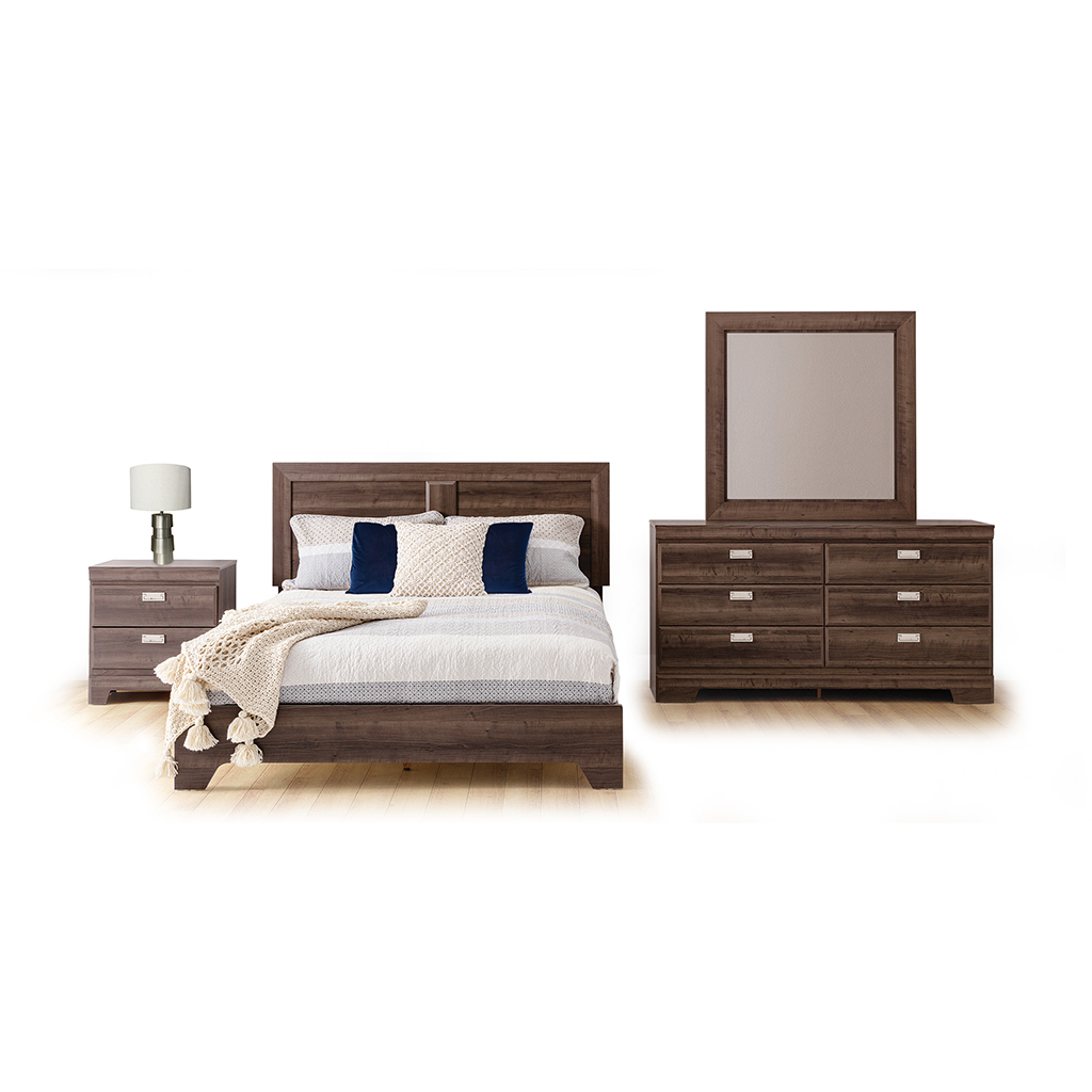 Mobilier De Chambre Coucher Queen Grand 2 Places Tanguay