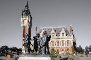 Calais - ratusz w centrum miasta