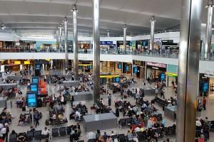 Lotnisko Heathrow w Londynie - nowy rekord w liczbie pasażerów