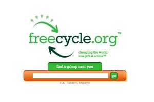 freecycleorg - rzeczy za darmo w UK