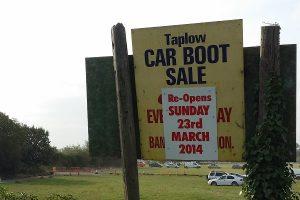 car boot sale w wielkiej brytanii - carboot w uk - karbut w Anglii