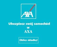 axa ubezpieczenie samochodu w uk