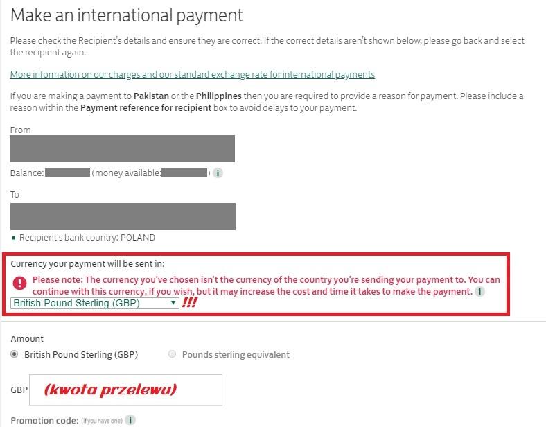 jak wysłać pieniądze do polski z lloyds