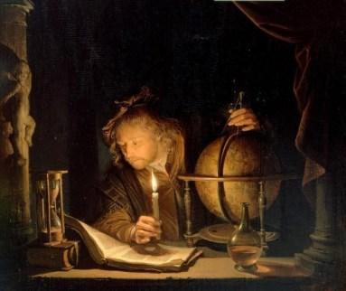 astronomo Gerrit Dou