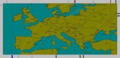 Astromap Wuerzburg