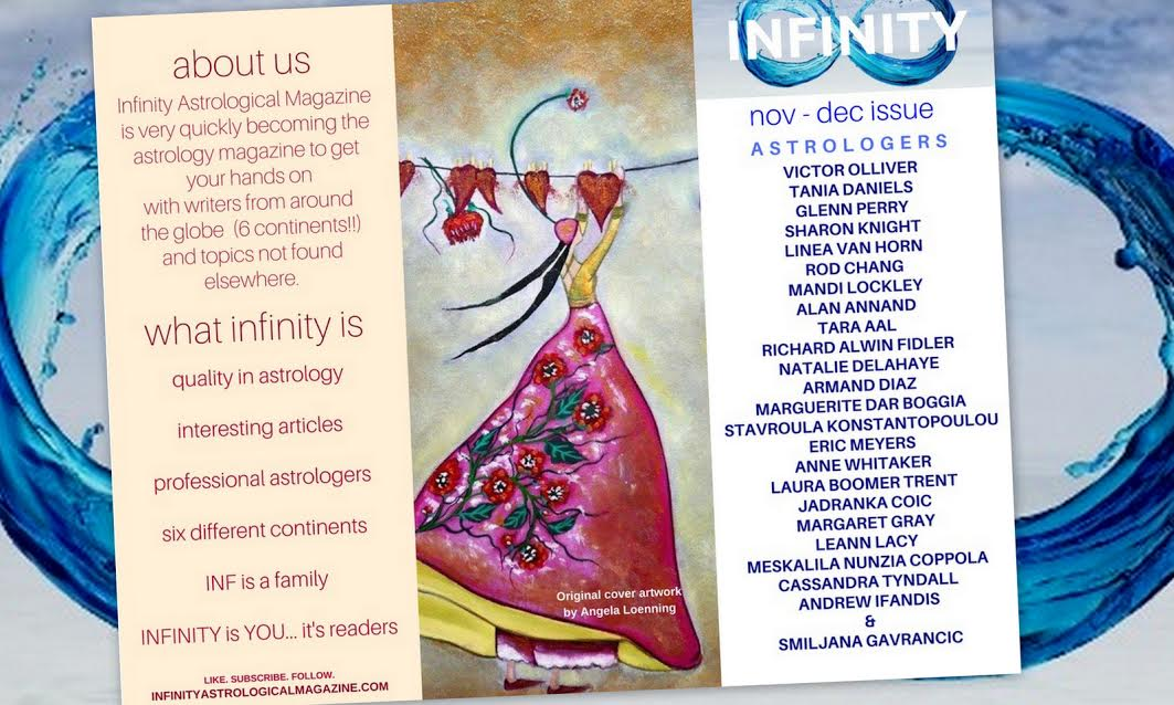 infinity-cover – Tania Daniels, Astrologer