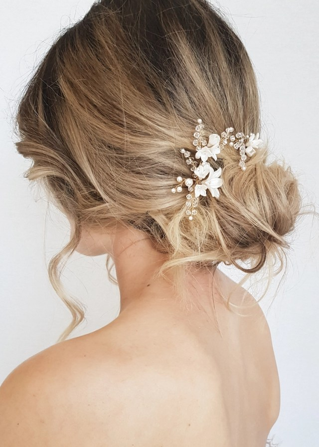 24 gorgeous messy wedding updos - tania maras | bespoke