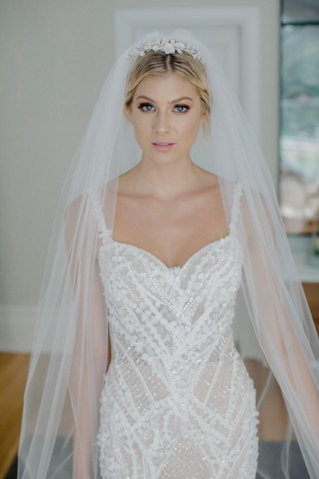 clarabel   floral bridal tiara