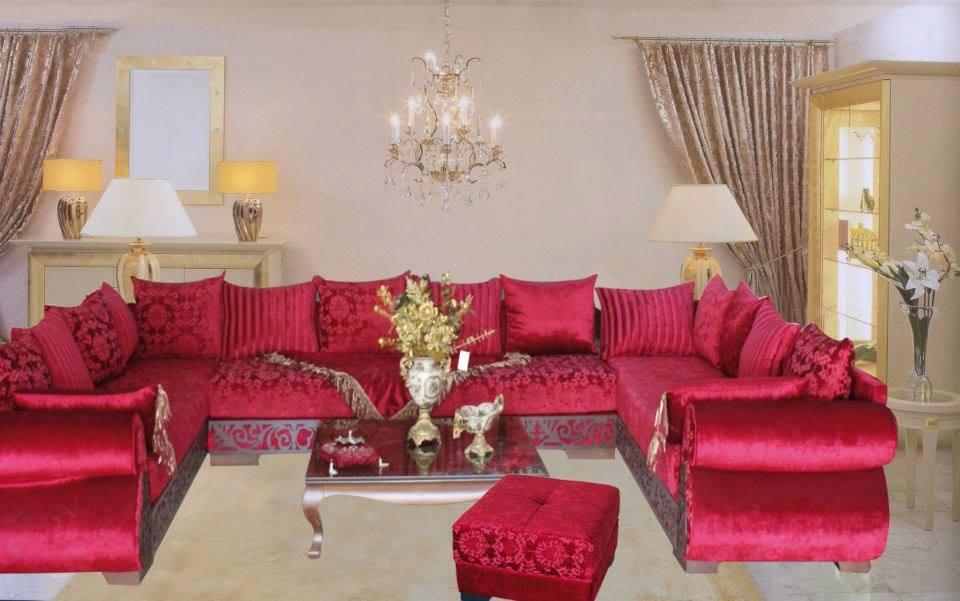 salon marocaine meubles et decoration