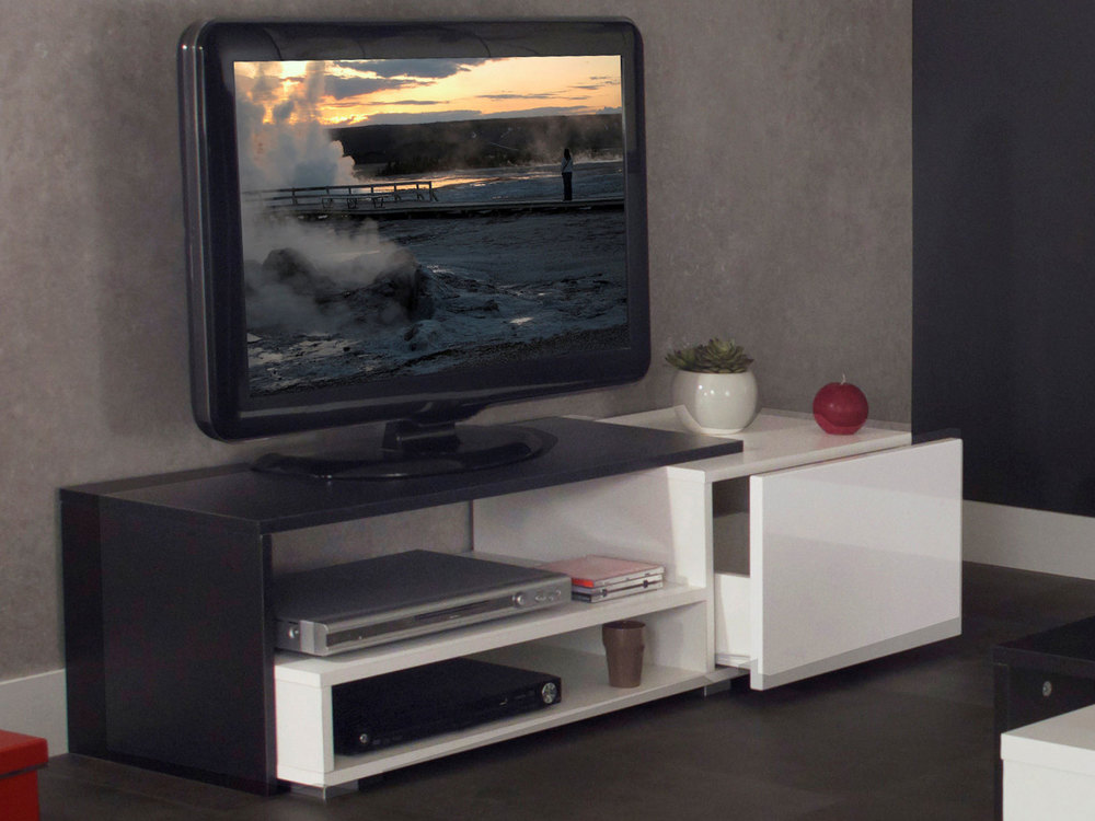 meuble tv avec tiroir casa meubles et