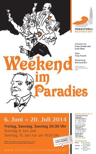 Weekend im Paradies