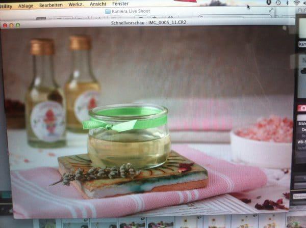 Produktstyling für Ayuveda Padmavati- Körperöl