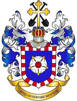 Heraldisch familiewapen (mannelijk) voor afstammelingen van Dooren (2019)