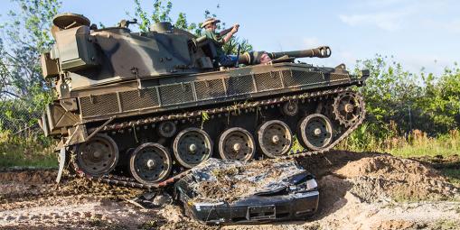 tank america car crush package