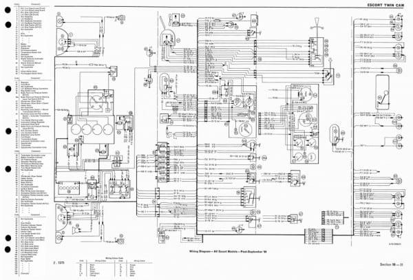 wiring ford escort transmission diagram hd quality