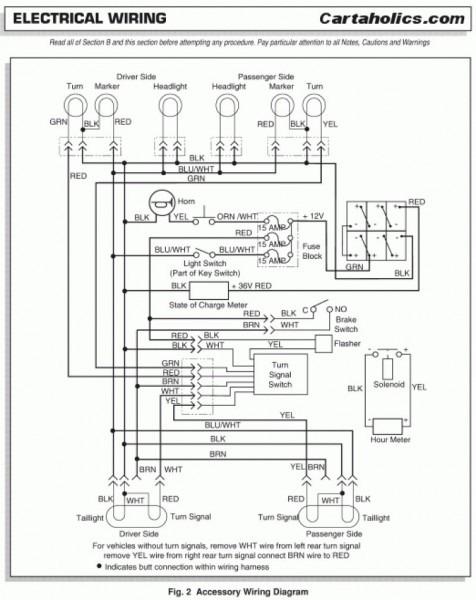 wiring diagram for ez go workhorse st480  1995 dodge dakota