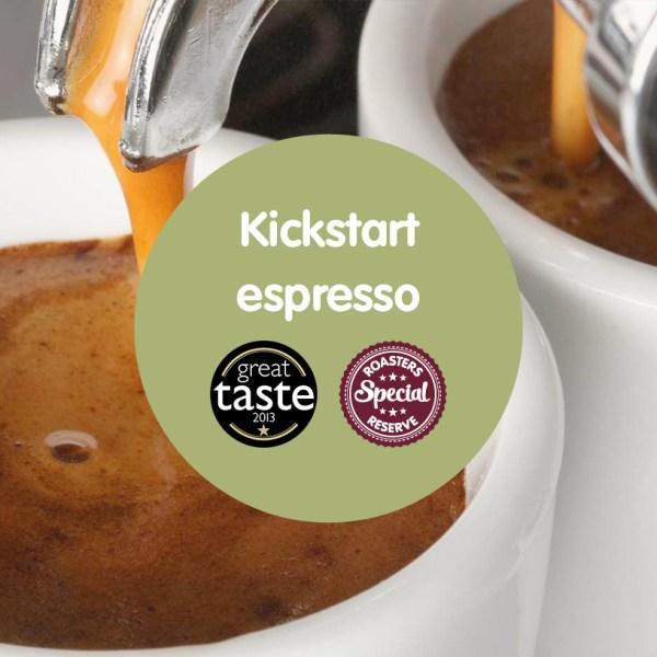 Kickstart gourmet espresso