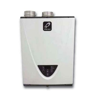 Takagi T-H3- DV-N Condensing High Efficiency Natural Gas Indoor Tankless Water Heater