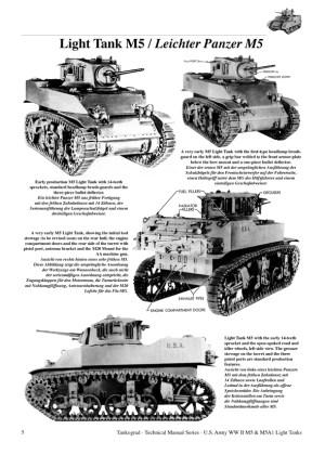 US WWII M5 & M5A1 Stuart Light Tanks  TANKOGRAD Publishing  Verlag Jochen Vollert