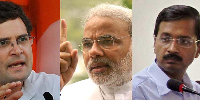 modi-vs-rahul-kejriwal