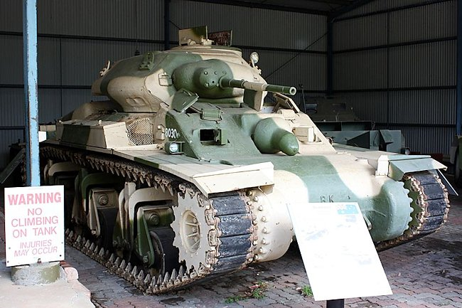 Preserved AC I on display at the RAAC museum