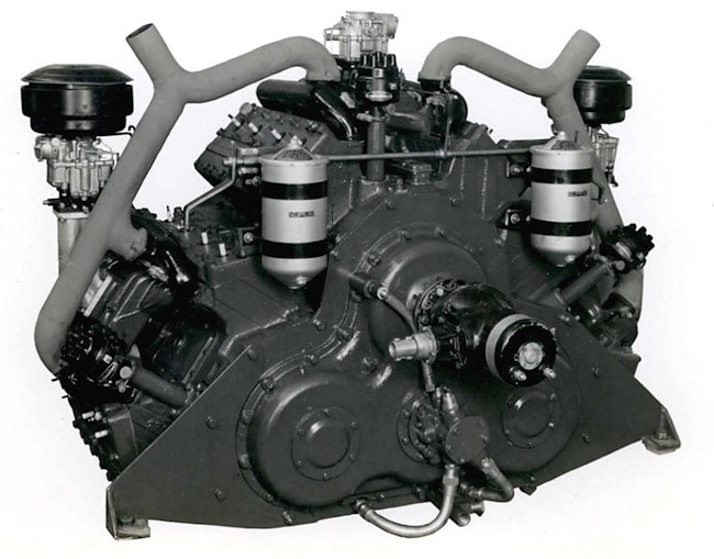 Perrier Cadillac 395 horsepower engine. Source: National Australian Archives MP730 10