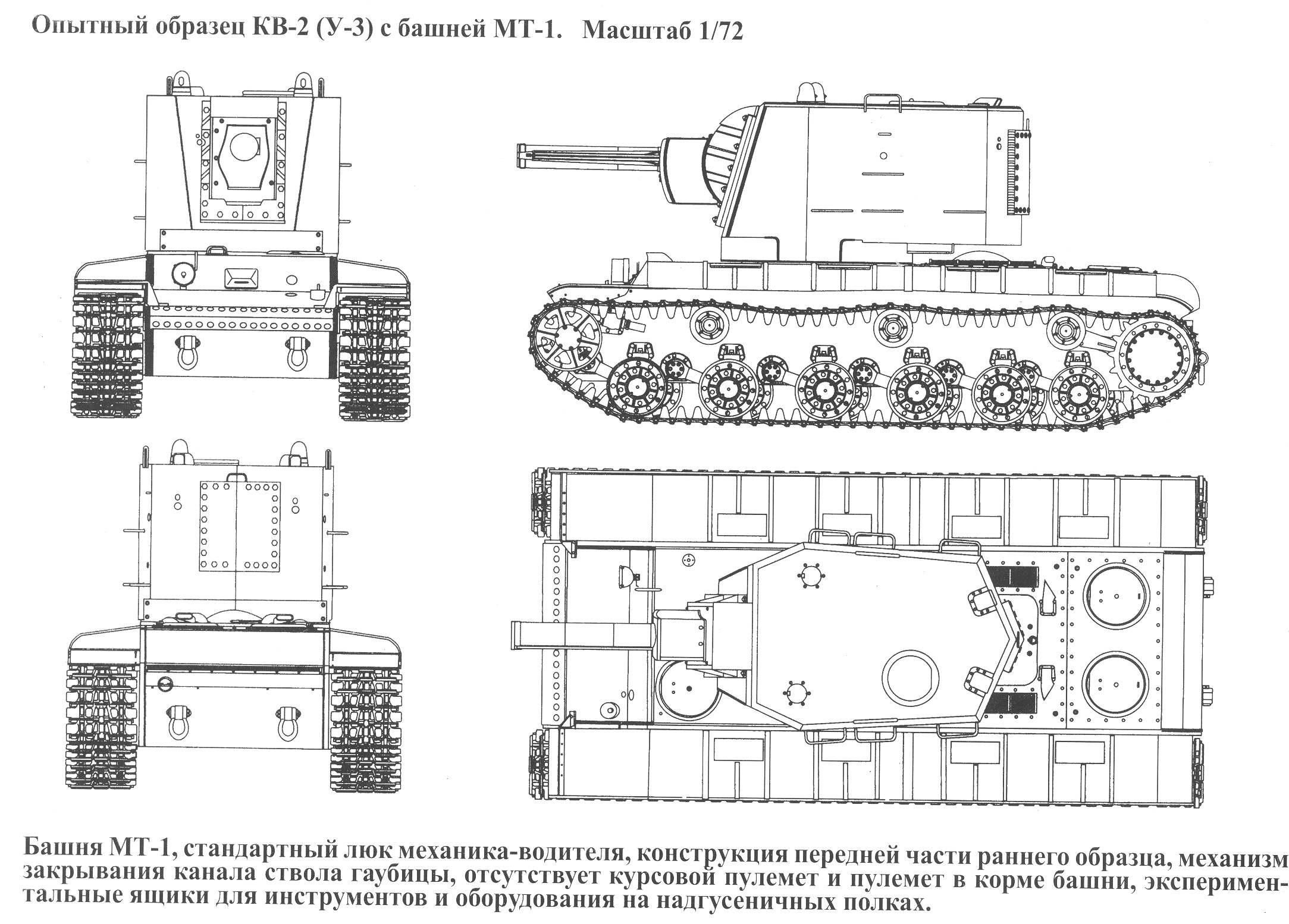 Kv 2 Soviet Heavy Assault Tank