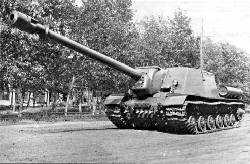 Object 247 (ISU-152-2) with the 152 mm BL-10