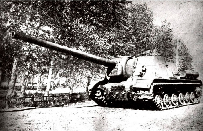 Object 243 (ISU-122-1) with the 122mm BL-9