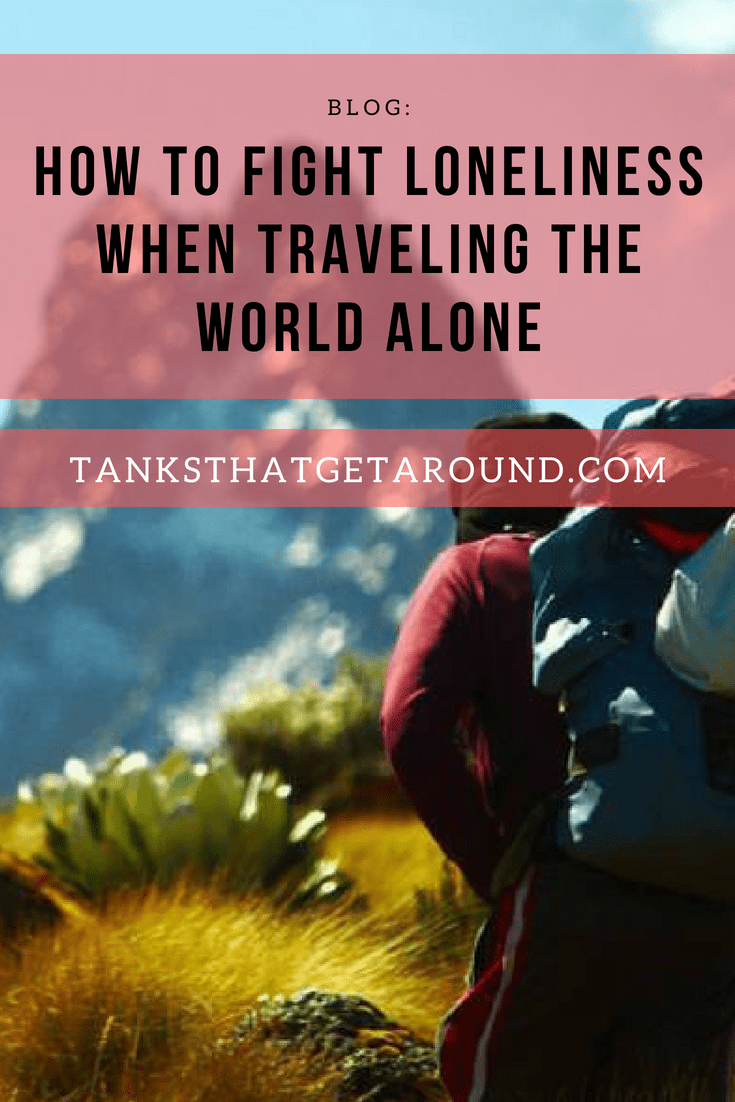 traveling the world alone