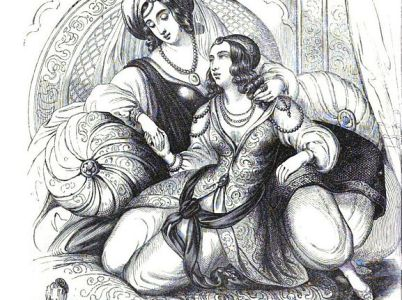 "Scheherazade, la mitologica regina narratrice de ""Le mille e una notte"""
