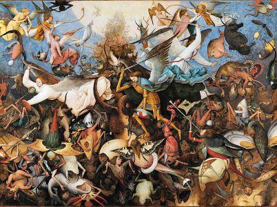 Gli Angeli Caduti e Atlantide