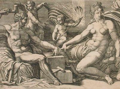 Efesto (Vulcano), il dio del fuoco