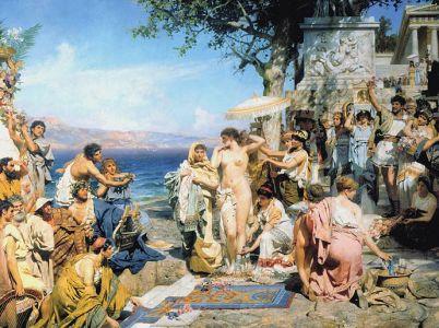 Frine, l'etèra greca dall'ineguagliabile bellezza