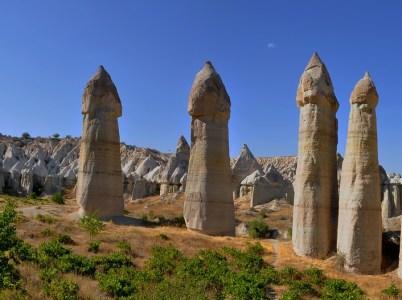 La Cappadocia, i camini delle fate ed un po' di storia