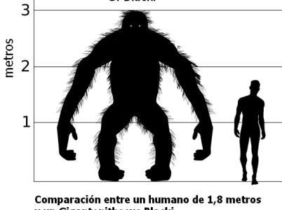 Scimmie e uomini giganti nel nostro passato
