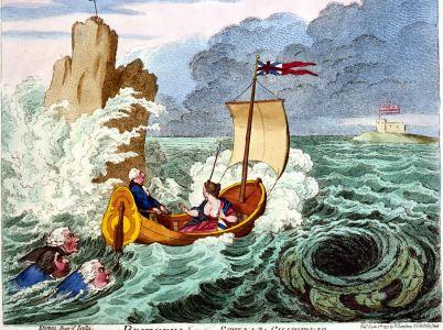Galileo Galilei spiegò la peculiarità delle correnti tra Scilla e Cariddi