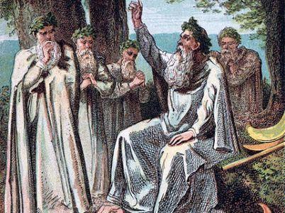 I druidi, un'antica classe sacerdotale